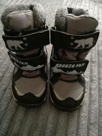 Buty zimowe/śniegowce rozm. 22