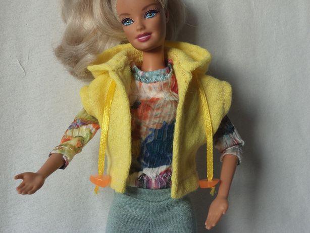 Ubranka dla lalki barbie - kamizelka, bluzeczka, legginsy, sandały !!!