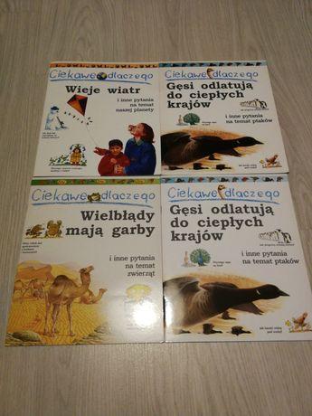 4 książki z serii 'Ciekawe dlaczego?'