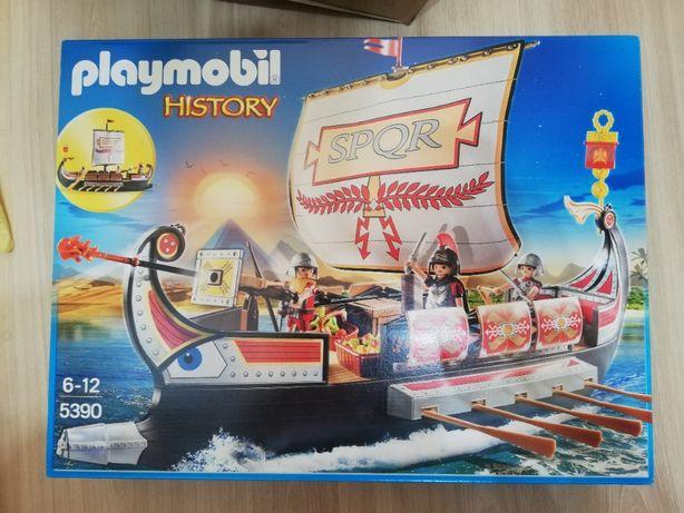 Playmobil History 5390 Rzymska galera NOWA UNIKAT