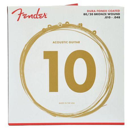 J. Cordas Guit. Acústica FENDER 10-48 COATED 880XL