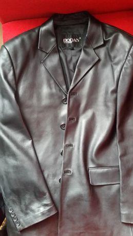 Мужская весенняя кожаная куртка