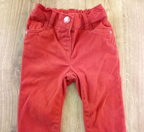 Spodnie NEXT roz.86-92 cm / 18-24m, dziewczęce tregginsy, motylek