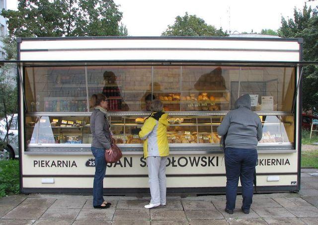 Pawilon Handlowy Gastronomiczny Piekarniczy, cukierniczy