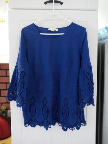 Bluzka niebieska kobaltowa M 38