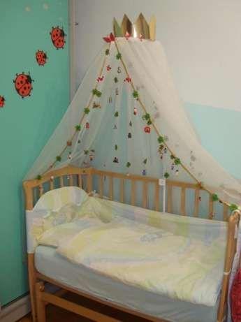 Комплект для дитячого ліжечка для принцеси або принца