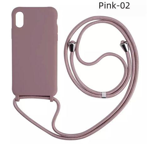 Etui iphone X sznurek