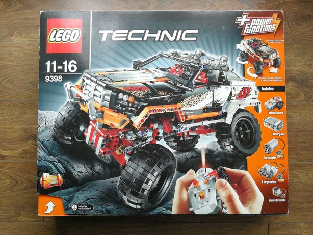 Lego Technic 9398 4x4 Crawler / Wóz z napędem 4x4 Nowy Unikat