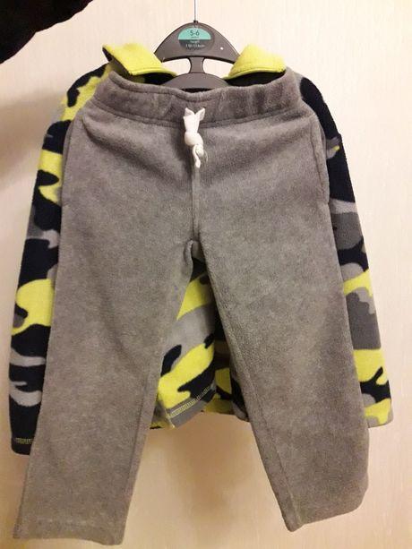 Флисовые брюки Carters на мальчика 4 лет