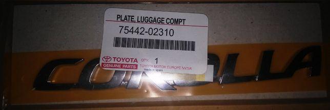 Эмблема крышки багажника TOYOTA COROLLA 7544202310, 75442-02310