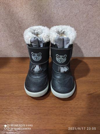 Зимние ботинки Demar 24 25р дутики угги сапоги сапожки