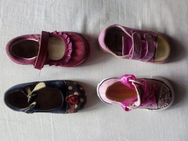 туфли и кеди