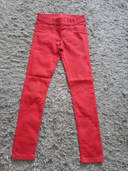 Czerwone spodnie na gumkę Szczytno - image 1