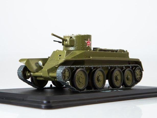 Модель БТ-2 СУ ИСУ Танки 1:43