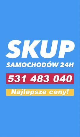SKUP AUT 24H Samochodów / Brzeg 100km / Złomowanie / Kasacja Pojazdów
