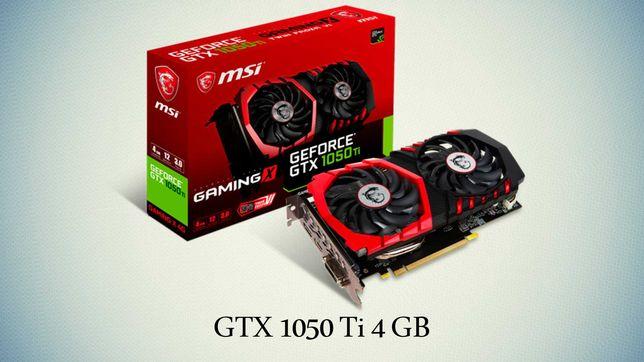 Продам видеокарту  GeForce GTX 1050 Ti GAMING X 4GB GDDR5