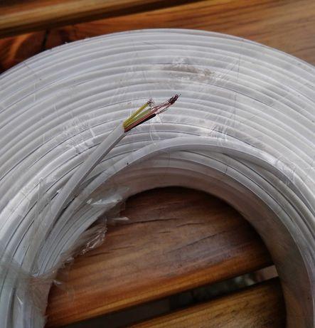 кабель телефонный cabletech TLF 4. Новый, 300 руб./ 100м