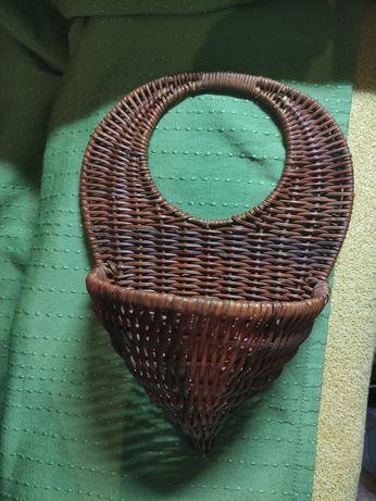 Плетёная корзинка