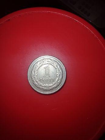 Moneta obiegowa 1zł 1991