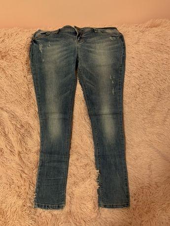 Jeansowe spodnie rozmiar 40