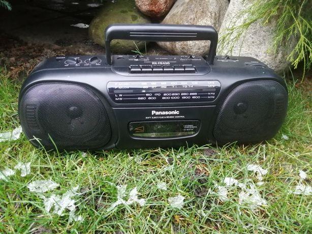Radiomagnetofon Panasonic / np ;do warsztatu;na ogródek