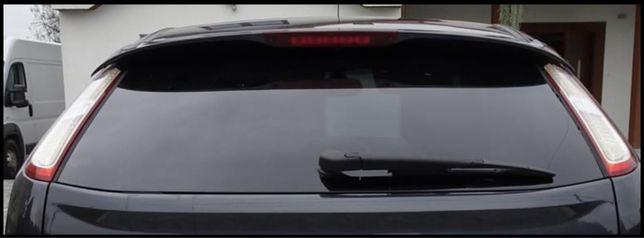 Szyba tylna klapy Ford Focus mk2 FL  czarna przycirmniana