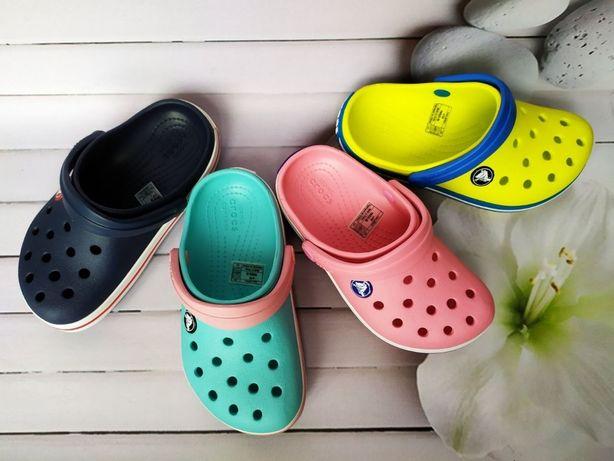 Детские кроксы. Crocs Crocband для девочки и мальчика.