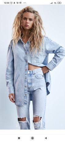 Koszula jeansowa Zara m/l