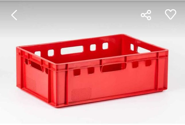 Pojemnik skrzynka na mięso skrzynki plastikowe EURO E2
