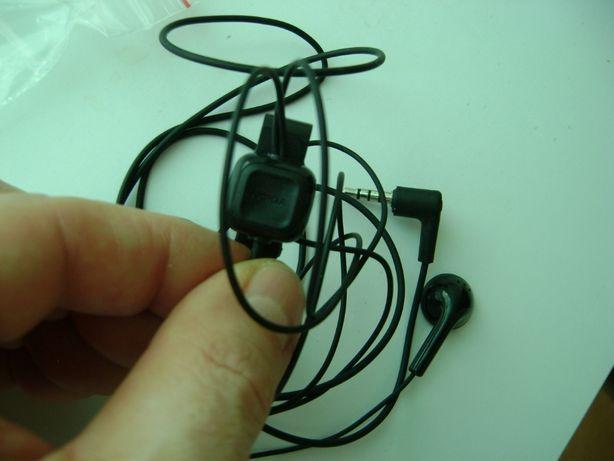 nowe oryginalne słuchawki nokia z mikrofonem na jack 3,5