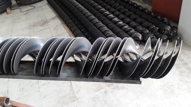 цельнотянутые шнековые спирали от производителя, ремонт шнеков