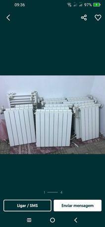 Recolha de radiadores aquecimento