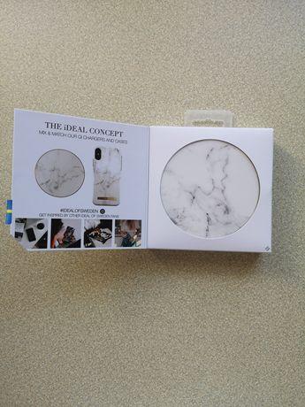 Ładowarka QI White Marble