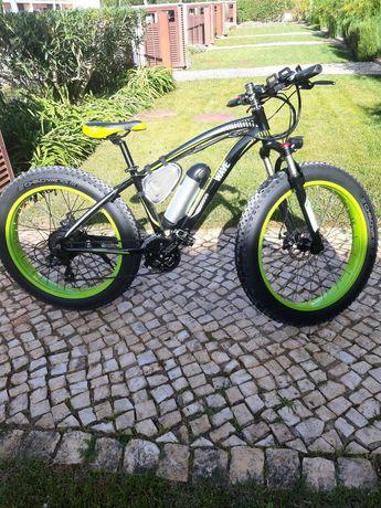 Bicicleta Elétrica WAVE B Preto Velocidade 25 km/h Autonomia: 30 km