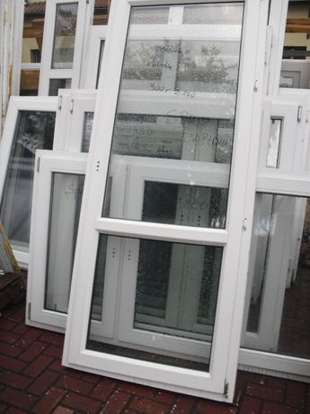 Okna i Drzwi Balkonowe 860x2300 z Demontażu z Niemiec !