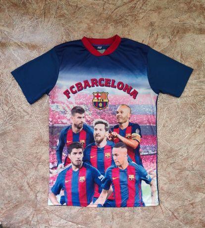 Футболка пдростковая футбольного клуба Барселона (FC Barcelona)