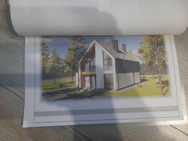 Архитектурный проект дома в стиле SCANDI