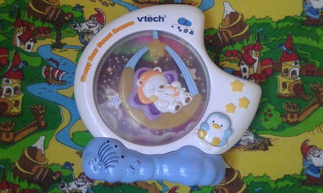 Ночник Vtech и развивающий столик Leap Frog.