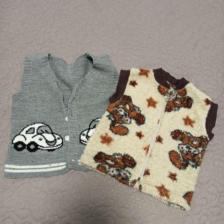 Детские жилетки для мальчиков и девочек