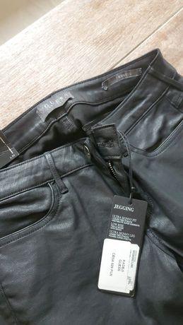 Spodnie Guess woskowane