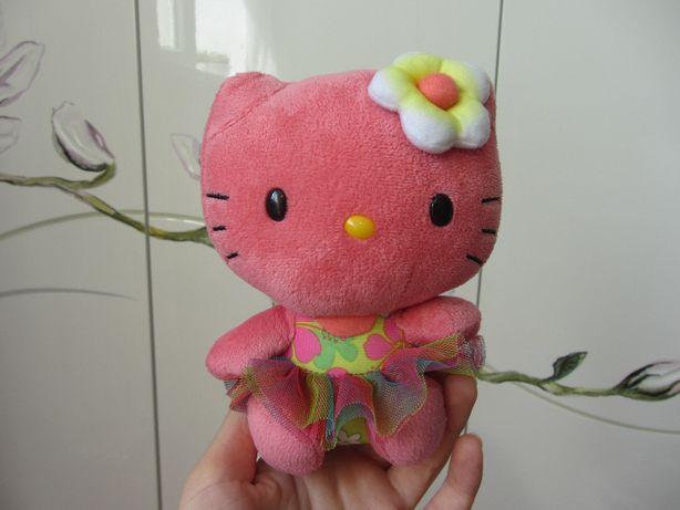 Мягкая фирменная плюшевая игрушка Hello Kitty Хеллоу Китти TY 16 см
