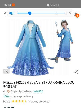 Strój Elsa 2 , 150 , 9-10 lat