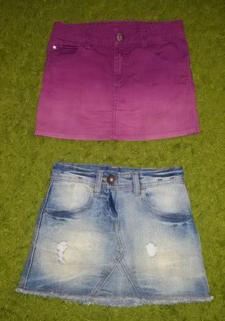 Dwie spódniczki dla dziewczynki 104 cm