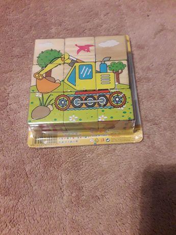 nowe puzzle klocki