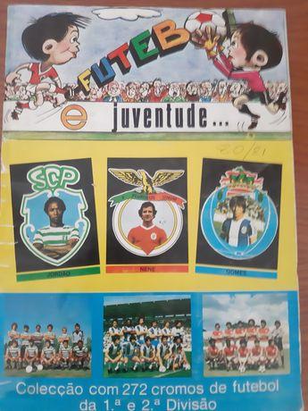 Caderneta completa 1980/81