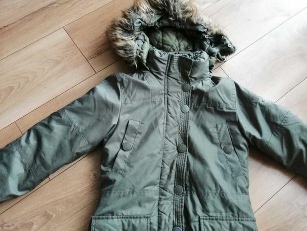 Zimowa kurtka Zara roz. 146.jak nowa