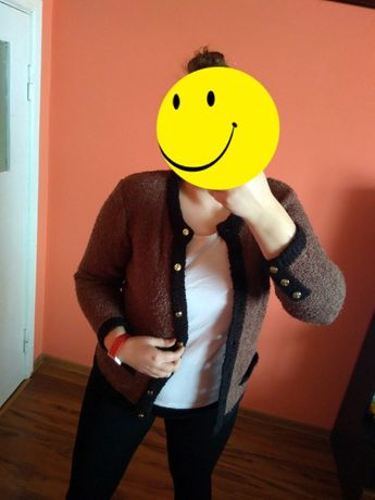 Sweterek brązowy L HONEY