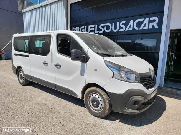Renault TRAFIC 1.6DCI 125CV 9LUGARES LONGA