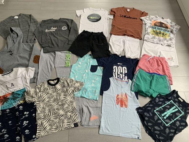 Zestaw 20 ubrań dla chłopca 140/152 Zara Nike Adidas