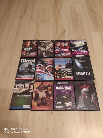 Płyty DVD filmy sztuka po 10 zł okręt Hannibal ciśnienie